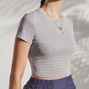Striped Quick-drying Yoga Clothes - Ahanova Sports