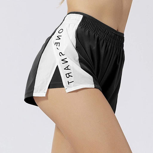 Quick Dry Two Piece Gym Shorts - Ahanova Sports