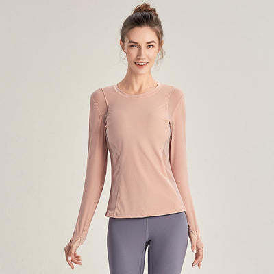 Running Sexy Sports Top #Pink - Ahanova Sports