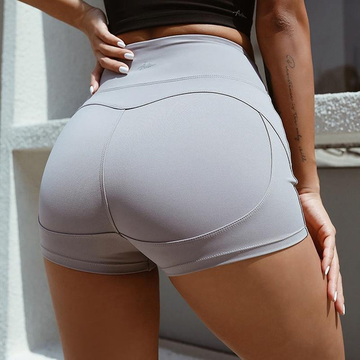 Hip-lifting Running Yoga Shorts - Ahanova Sports
