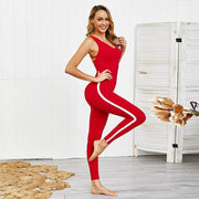 Backless Sport Suit Workout Tracksuit - Ahanova Sports