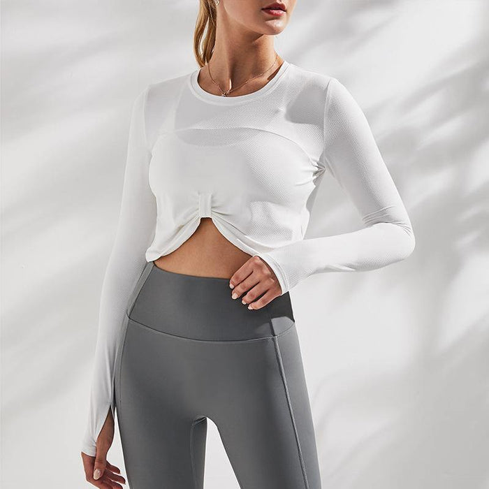Quick-dry Tight Short Yoga Top
