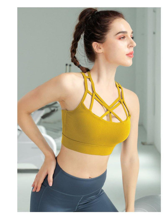 Quick-drying Shockproof Sports Bra - Ahanova Sports