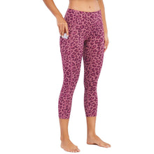 Load image into Gallery viewer, Leopard Print Peach Lifting Leggings Yoga Pants - Ahanova Sports