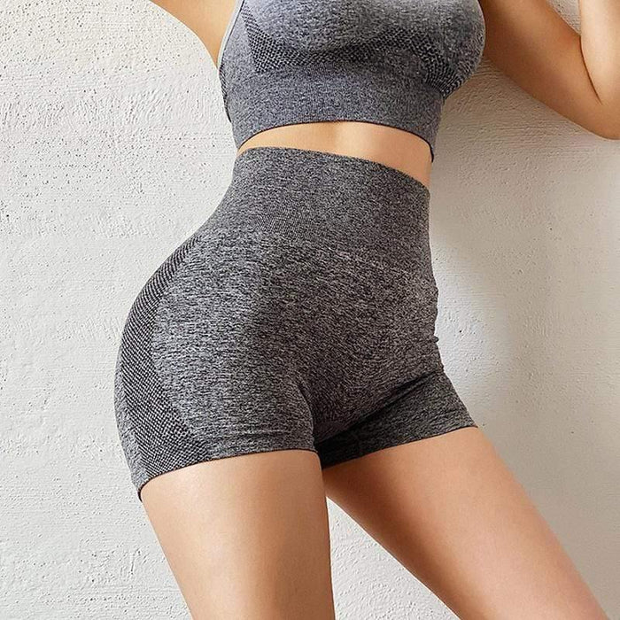 Quick-drying Sexy Hip Fitness Shorts - Ahanova Sports