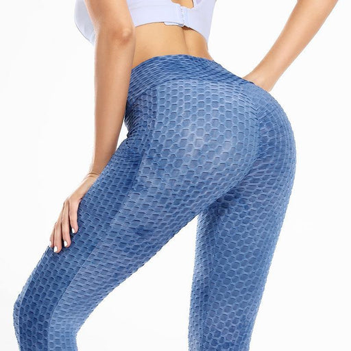 Blue Lifting Anti Cellulite Lift Leggings