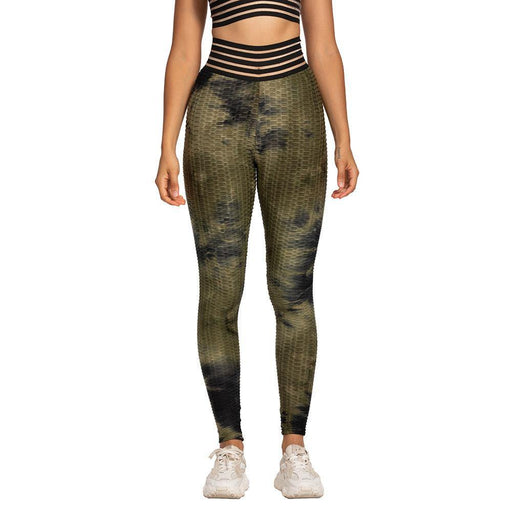 Special High Waist Tie-dyed Lift Leggings