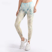Digital Printed Fitness Workout Leggings - Ahanova Sports