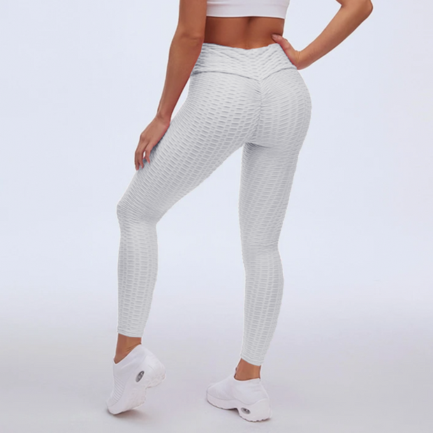 Sports Anti Cellulite Peach Lift Leggings - Ahanova Sports