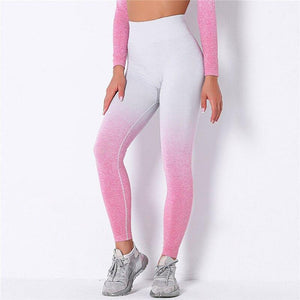 Gym Seamless Workout Leggings - Ahanova Sports