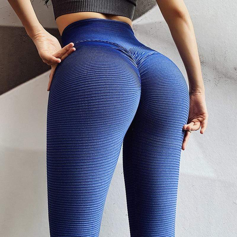 Fitness Scrunch Butt Leggings - Ahanova Sports