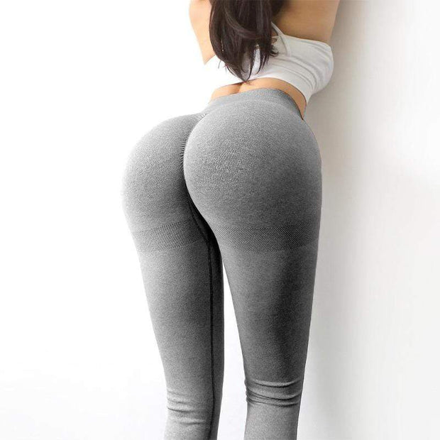 High Waist Booty Scrunch Leggings - Ahanova Sports