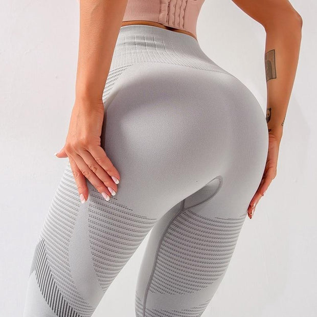 Breathable Mesh High Waist Leggings - Ahanova Sports