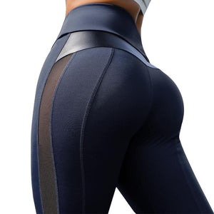 High Waist Fitness Leggings - Ahanova Sports