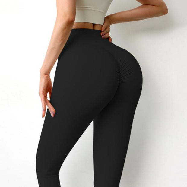 Slimming Built High Waist Leggings - 12 Colors - Ahanova Sports