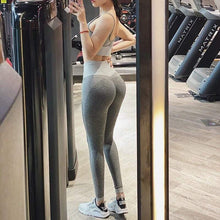 Load image into Gallery viewer, High Waist Seamless Yoga Leggings - Ahanova Sports