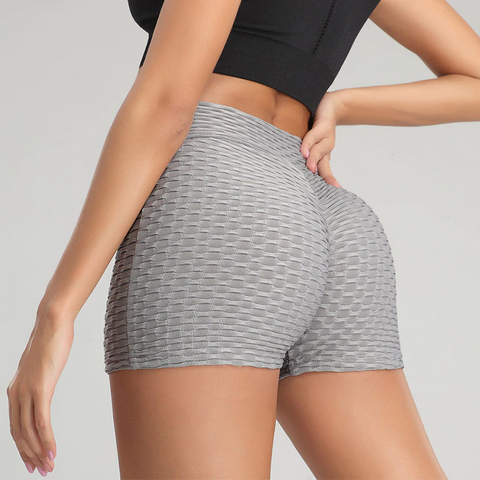High Waist Yoga Shorts Leggings - Ahanova Sports