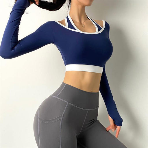 Casual Trendy Yoga Long Sleeve - Ahanova Sports