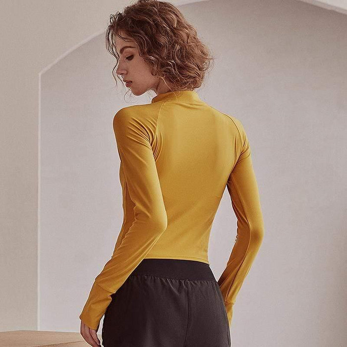 Stylish Tight Quick-Dry Long Sleeve