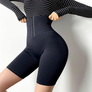 Tummy Control Stretchy Workout Short Leggings - Ahanova Sports