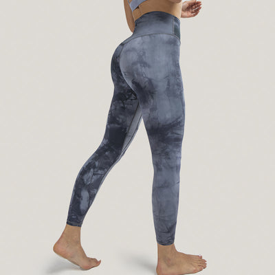 Tie Dyed tights Naked Feeling Leggings - Ahanova Sports