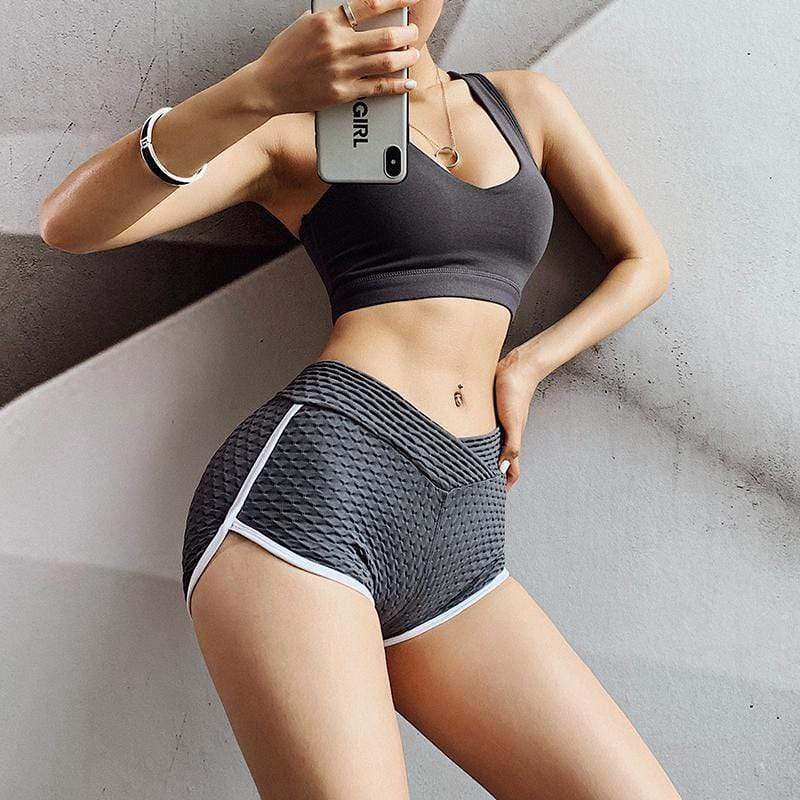 Sexy Bag Hip Fitness Shorts - Ahanova Sports