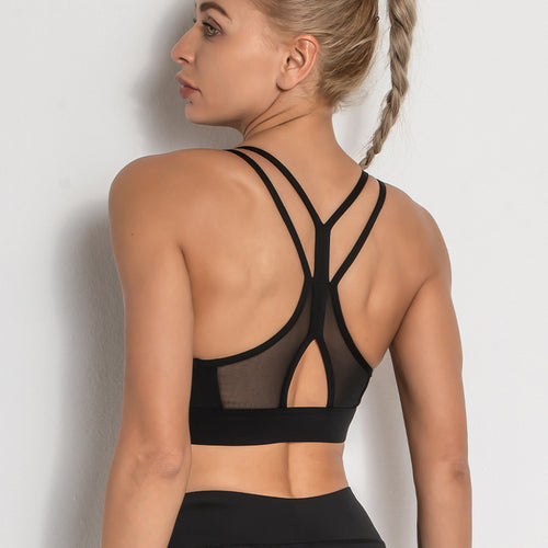 Breathable Beautiful Back Sport Bra - Ahanova Sports