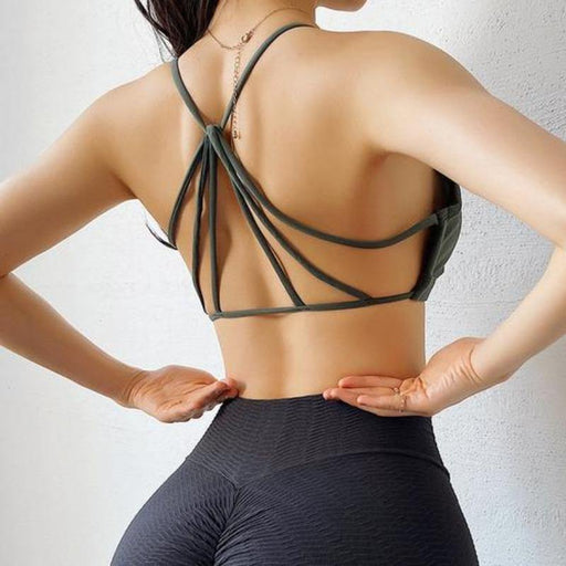 Shoulder Straps Shock-proof Bra