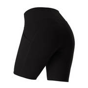 High Waisted Pocket Shorts - Ahanova Sports
