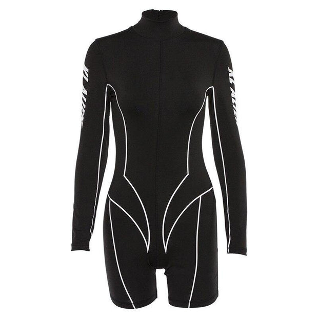 One Piece Sportswear Yoga Set Long Sleeve Rompers - Ahanova Sports