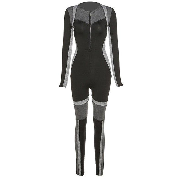 Seamless Activewear Zipper Yoga Suit - Ahanova Sports