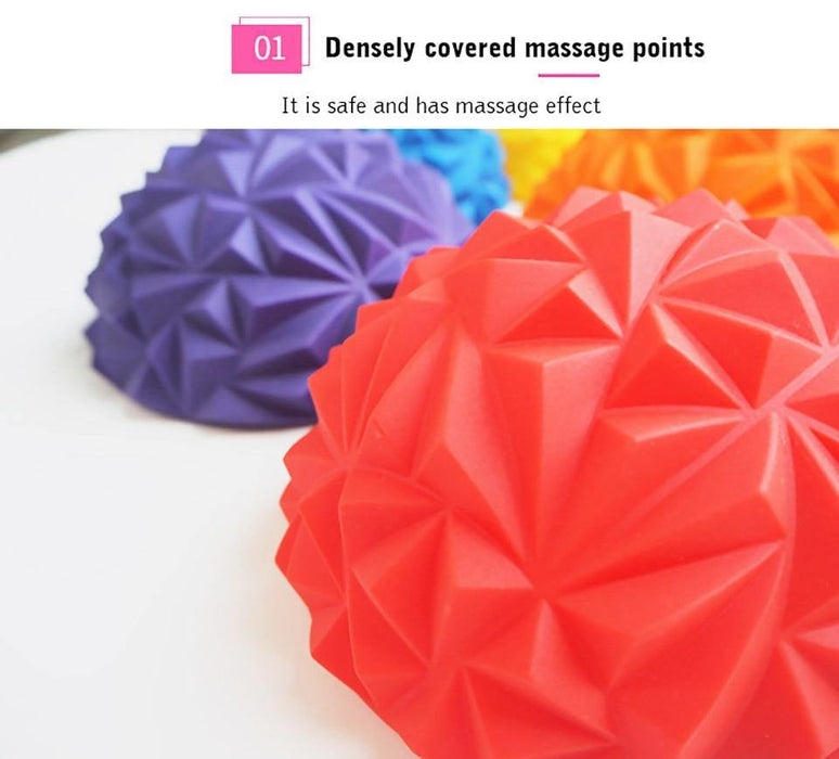 Yoga Body Rolling Foot Wakers Massage Half Ball