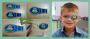 Hand made Eye Patches for Glasses