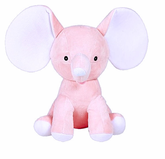 Personalised Plush Elephants