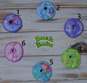 Hand made Belly Peg Pads/Tubie pads/Chait button pads