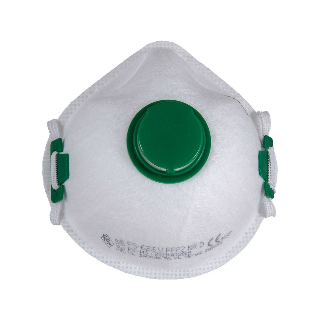 Bag of 10 FFP2 Filtering Half Mask with Valve (FS 20V)