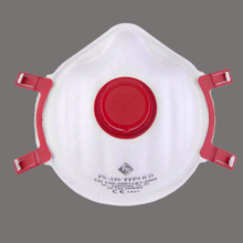 Laden Sie das Bild in den Galerie-Viewer, Bag of 5 Disposable Respirator Face Masks (FFP3-V)
