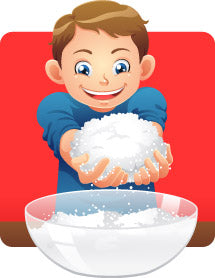 Bowl of Fake Snow