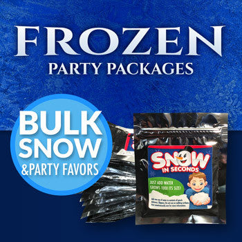 Frozen Party Packages with Frozen Favors