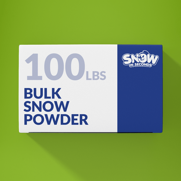 100 Pound Bulk (Makes 1300 Gallons of Snow)