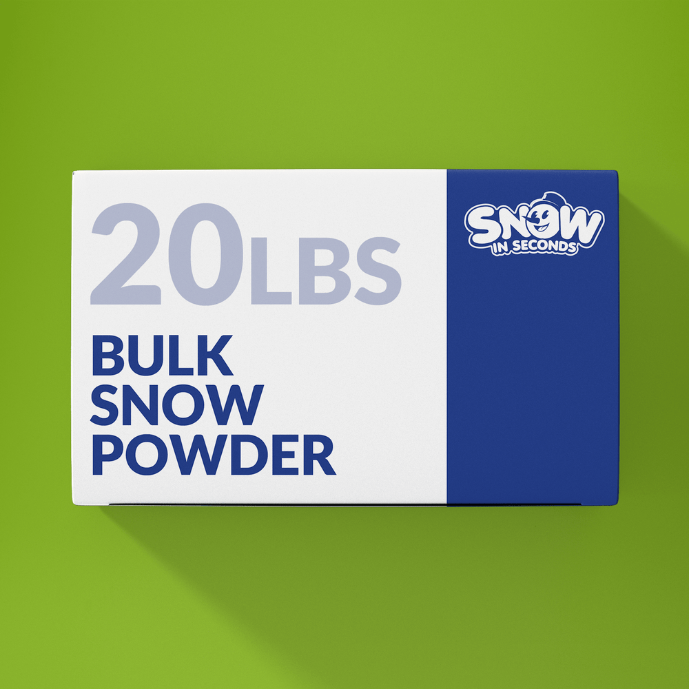 20 Pound Bulk (Makes 260 Gallons of Snow)