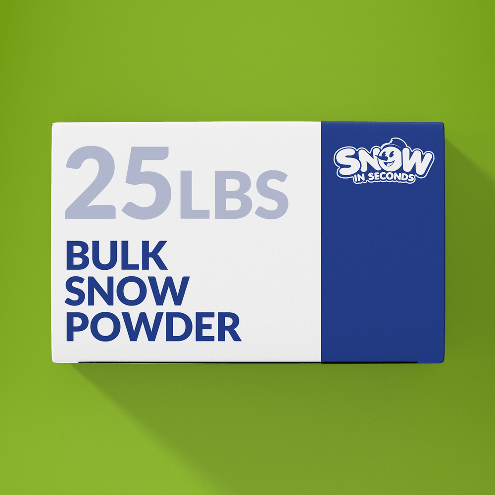 25 Pound Bulk (Makes 325 Gallons of Snow)