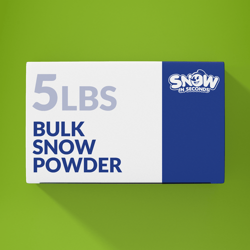 5 Pound Bulk (Makes 65 Gallons of Snow)