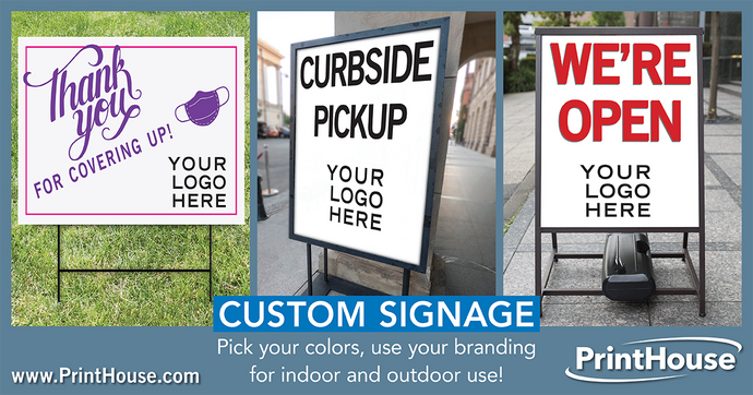 5 Reasons Why Your COVID Signage Should Be Branded