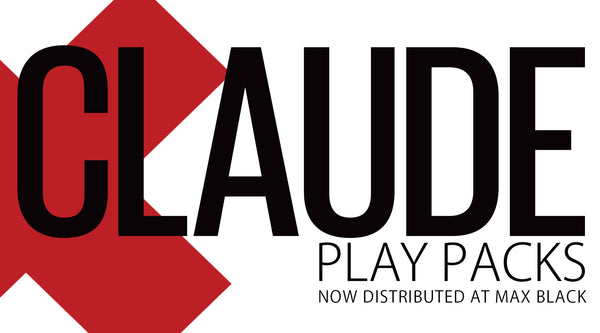 2014: CLAUDE Play Packs now distributed at Max Black!