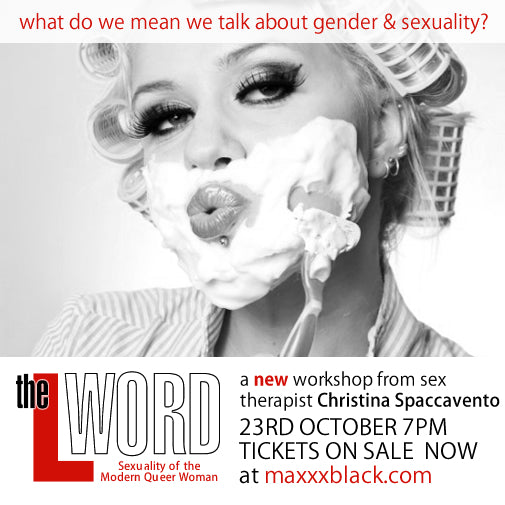 2012: Adult Workshop - The L Word - Sexuality of the Modern Queer Woman