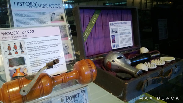 2012: Meet Woody - The latest antique vibrator to appear in our museum