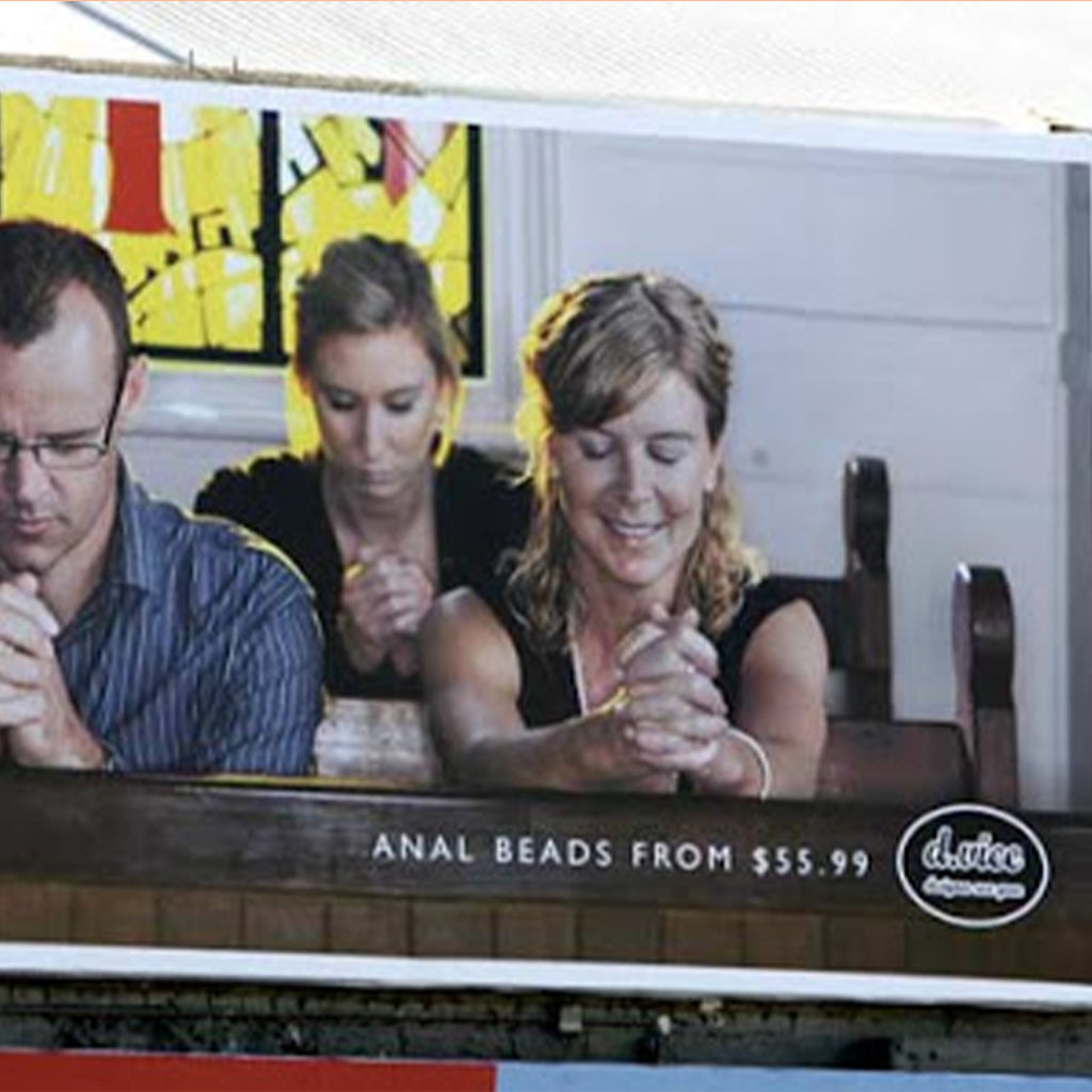 2009: Cheeky New Ad Upsets The Church(es)…