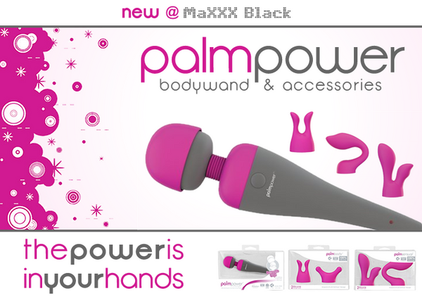 2011: New Product - PalmPower Bodywand + Accessories