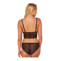 Wolf & Whistle New Ariana Lace Brief Black